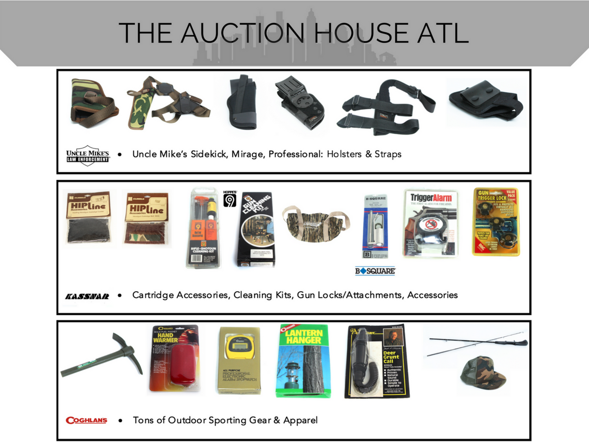 AUCTION CLOSED – Outdoor Sporting & Firearm Accessories Catalog Is Live!