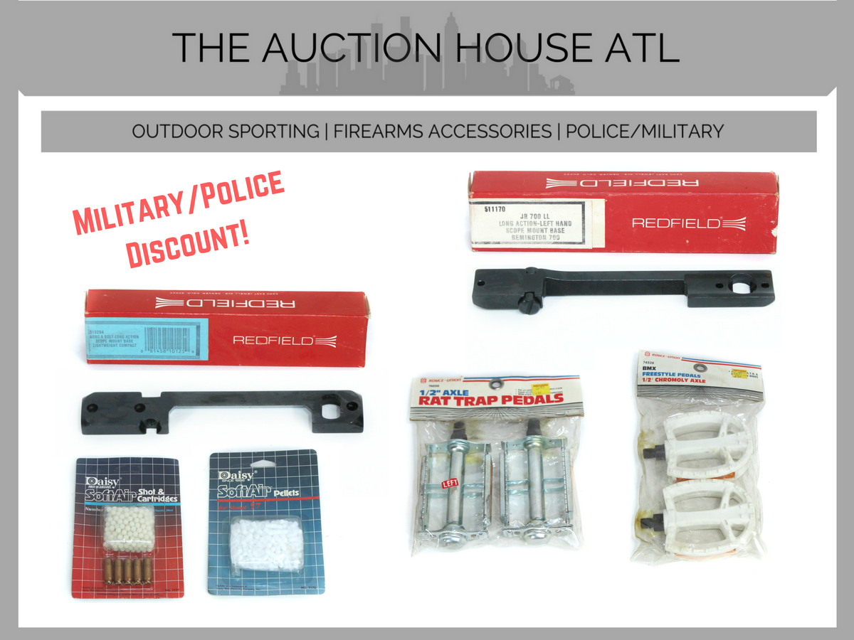 AUCTION CLOSED – We Are Adding Even More Items!