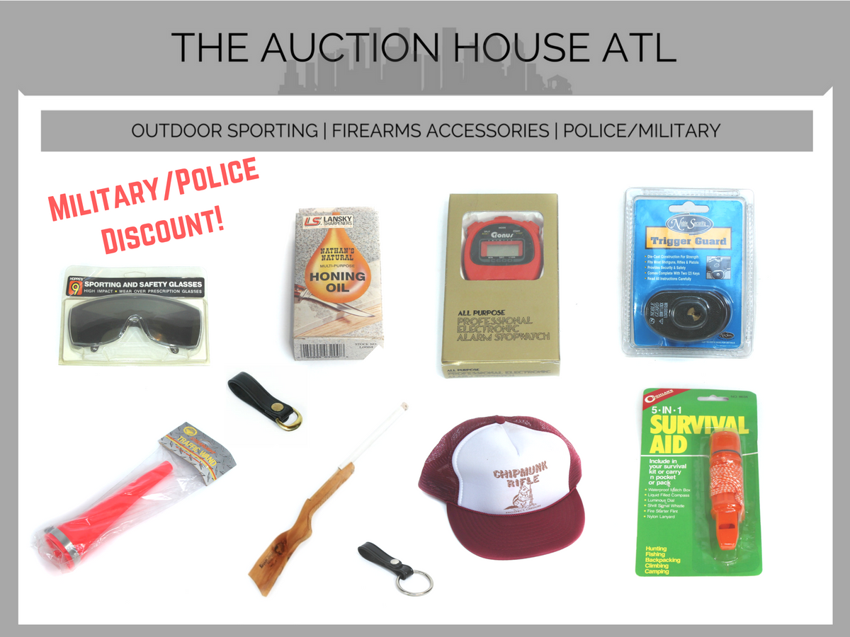AUCTION CLOSED – Our Catalog Is Expanding!