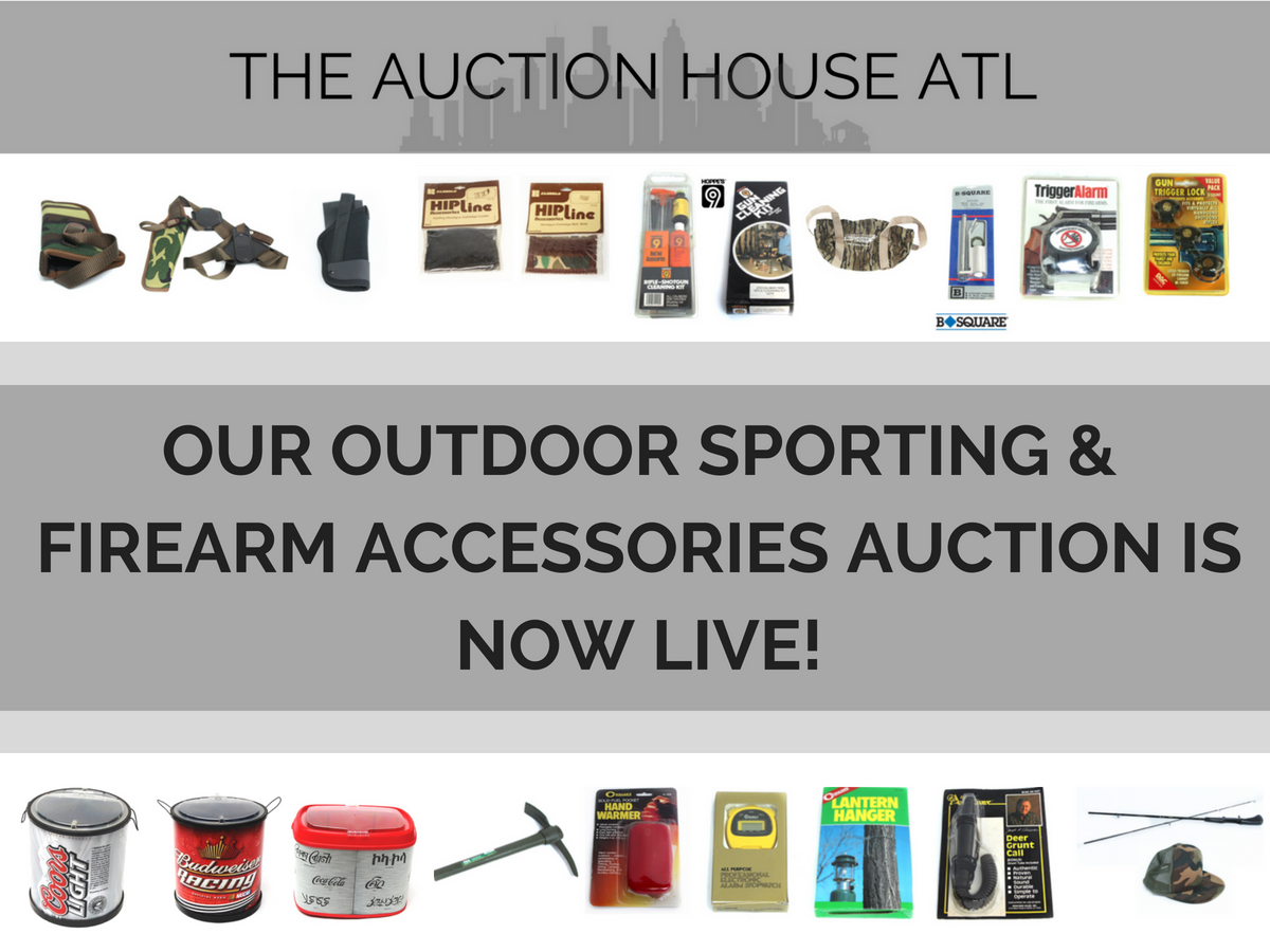 AUCTION CLOSED – Our Auction Is LIVE! Today Through 8.13.18