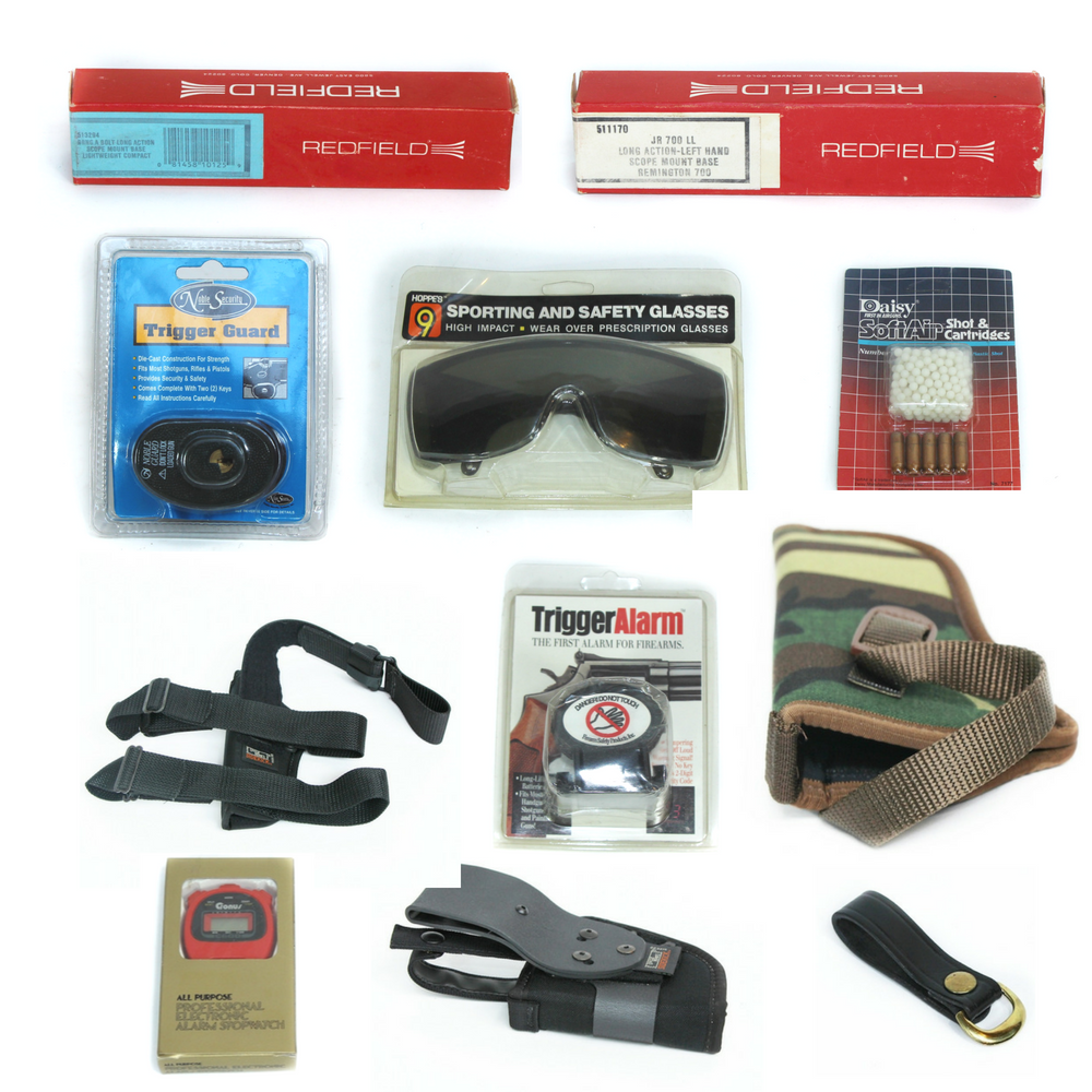 AUCTION CLOSED – Outdoor Sporting & Firearm Accessories