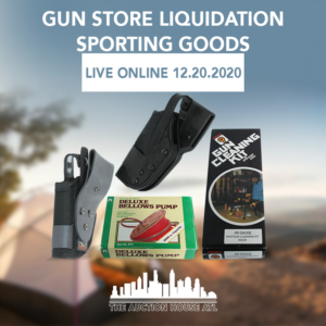 AUCTION CLOSED- Close Out GUN STORE LIQUIDATION!!! GUN HOLSTERS & More
